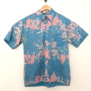 Reyn Spooner Vintage Hawaiian Short Sleeve Shirt